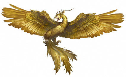 Golden Bird Image